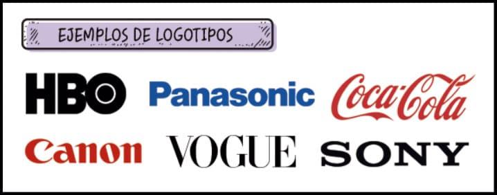 Logotipo: Diferentes ejemplos de logotipos de empresa
