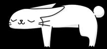 Dibujo de Lana durmiendo