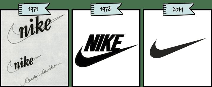 Historia del logotipo e isotipo de la marca de Nike